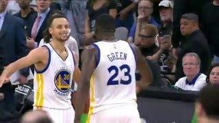 Golden State Warriors vs San Antonio Spurs - April 10,2016