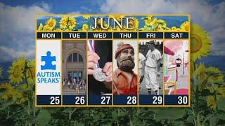 Calendar: Week of June 25