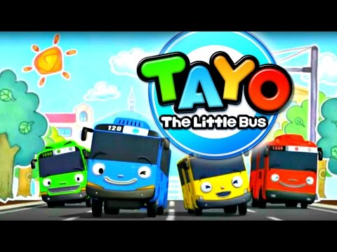 TAYO Bus Kid's Videos: BEACH GAMES! Kid's Games With Toy Cars 꼬마버스 타요,