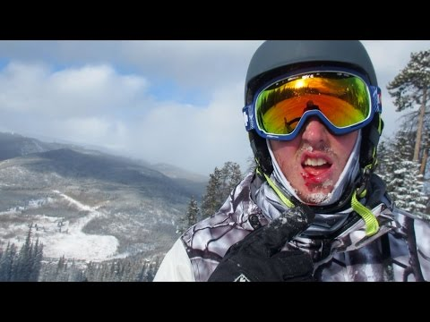 Bloody Snowboarding Accident!