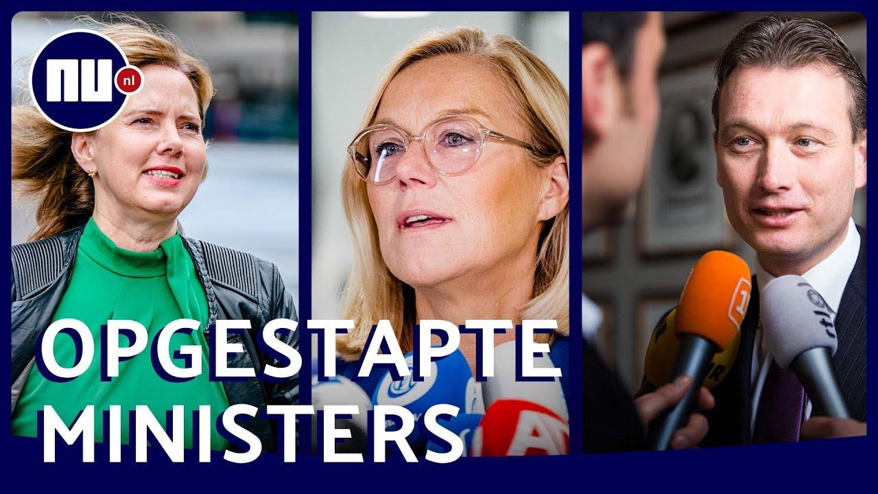 Download Deze acht ministers verlieten kabinet-Rutte III voortijdig | NU.nl