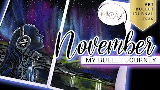 NOVEMBER Bullet Journal Setup 2020 Norway Bullet Journey PLAN WITH ME