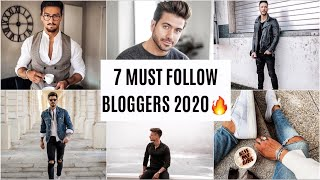 TOP 7 MENS FASHION BLOGGERS 2020: Menswear Inspiration & Tips I Influencer Review