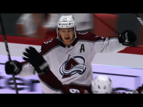 Nathan MacKinnon buries Red Wings in overtime