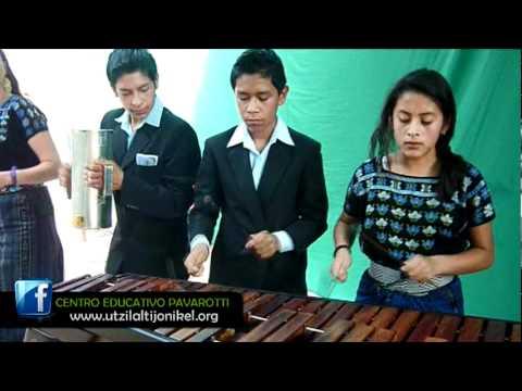 San Lucas Tolimán Marimba Centro Educativo Pavarotti