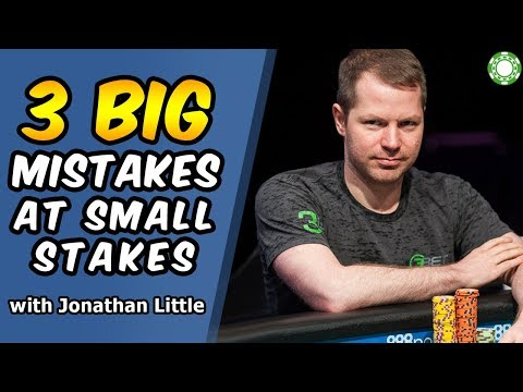 3 BIG Mistakes Of Small Stakes Players