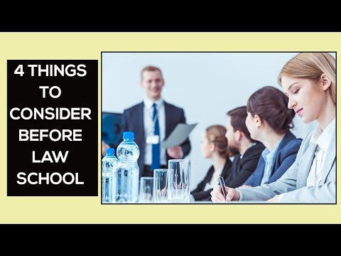 Law School: 4 Things To Consider | Lawyer Salary I How Much Do Lawyers Make | Average Lawyer Salary