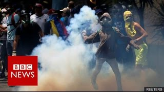 At least three people have been killed during anti-government protests in Venezuela.