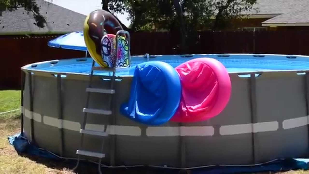 intex pool 20 x 52 ultra frame using sand and salt water pump youtube
