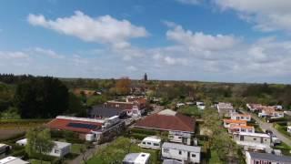 Camping in de Bongerd met drone voorjaar 2017
