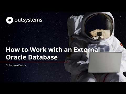 How To Work With An External Oracle Database