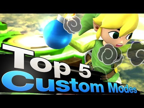 Smash 4 Wii U - Top 5 Custom Game Modes