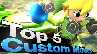 Smash 4 Wii U - Top 5 Custom Game Modes