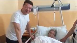 Tomio Okamura v ostravské nemocnici