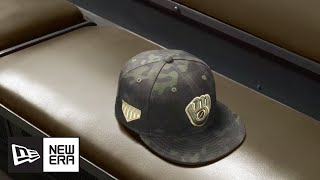 2019 Official On Field Cap of Armed Forces Weekend   MLB   New Era Cap