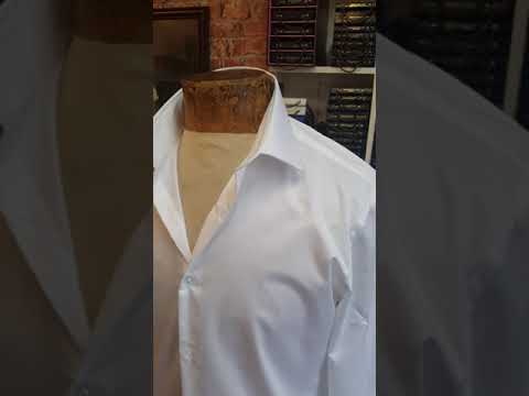 SIMON COWELL Million Dollar Collars introduction video by bespoke English tailor before and after
