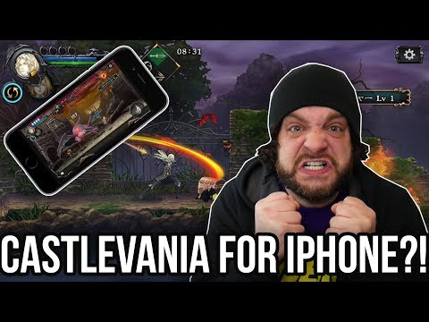 NEW 2D CASTLEVANIA ANNOUNCED - But for iPhone ONLY?!   RGT 85