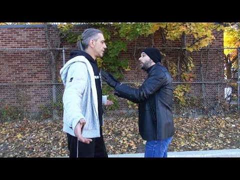 How to Defend Yourself against a Much Taller Attacker