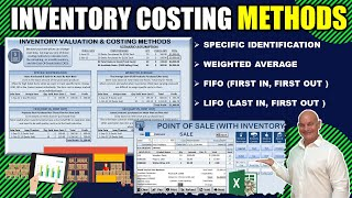 Calculate Inventory Costing Methods In Excel -FIFO, LIFO, Weighted Average \u0026 Specific Identification