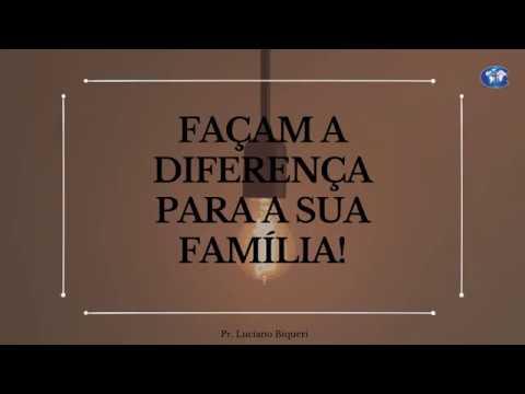 Pregação Pr. Luciano Biqueri | Faça a diferença (Noé) | 14/04/2019