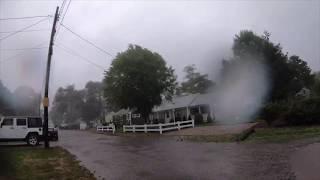 Time-Lapse Video of Tornado in Cape Cod