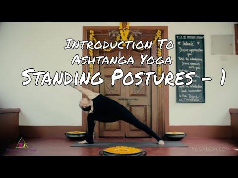 Introduction To Ashtanga Yoga Standing Postures Part 1 Youtube
