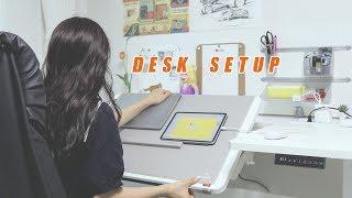 하루종일 편집하고 글 쓰는 유튜버의 책상 | 데스크셋업, 작업공간 공개!