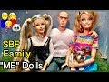 """M2M Barbie doll is named! Meet our """"Me Doll"""" SBF family dolls!  Panda too!"""