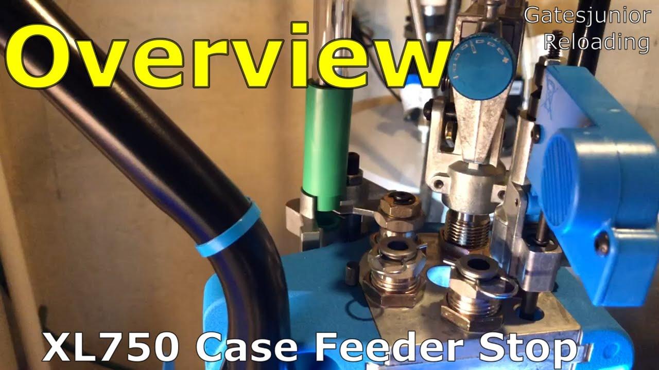 Dillon XL750 Case Feeder Stop DIY