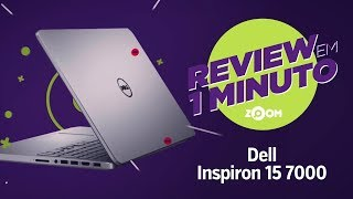 Notebook Dell Inspiron i15-7572-a20c  - ANÁLISE | REVIEW EM 1 MINUTO - ZOOM
