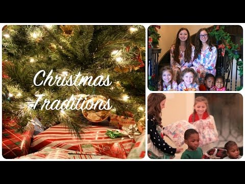 Our Family Christmas Traditions | Brooklyn and Bailey