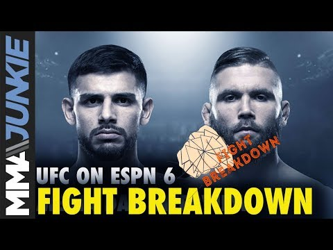 UFC On ESPN 6 Fight Breakdown: Yair Rodriguez Vs. Jeremy Stephens
