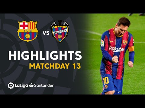 Barcelona Levante Goals And Highlights