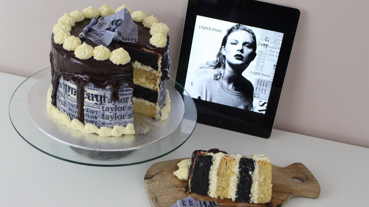 Taylor Swift Reputation Cake Look What You Made Me Do Reputation