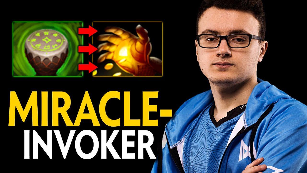 MIRACLE- INVOKER META MIDAS AFTER DRUM | INTENSE 9000MMR GAME VS STORM SPIRIT MID | Dota 2 Invoker