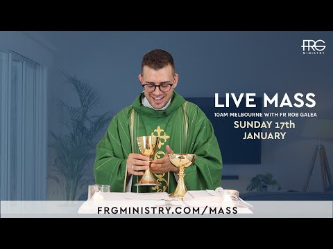 Live Mass on the 2nd Sunday with Fr. Rob Galea 17/1/2021