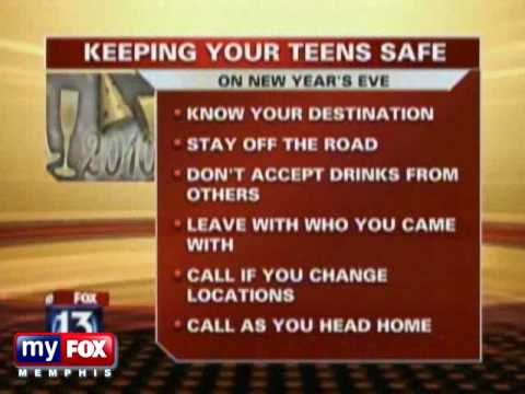 New Year's Eve Safety Tips for Teens - YouTube