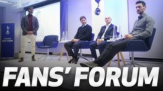 FANS' FORUM | Daniel Levy, Mauricio Pochettino and Hugo Lloris