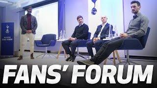 FANS' FORUM   Daniel Levy, Mauricio Pochettino and Hugo Lloris