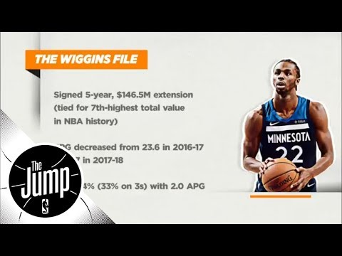 What's next for Andrew Wiggins and the Timberwolves? | The Jump | ESPN