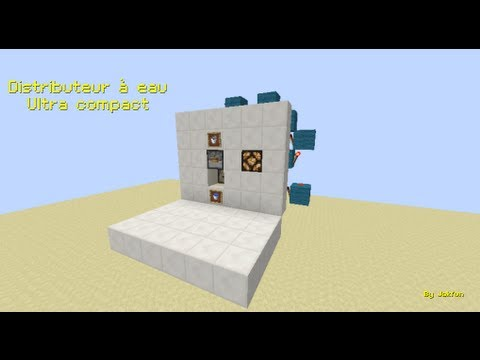distributeur d 39 eau ultra compact minecraft youtube. Black Bedroom Furniture Sets. Home Design Ideas