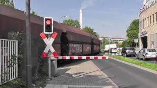 größter Bahnübergang Deutschlands ++ BÜ