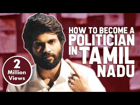How To Become a Politician in Tamilnadu   Ft Vijay Devarakonda   Put Chutney