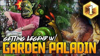Legend with Garden Paladin | Kobolds & Catacombs | Hearthstone