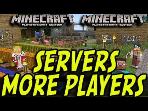 Minecraft (PS3, PS4, Xbox) - SERVERS CONFIRMED!? MORE PLAYERS ADDED Title Update