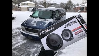 KENWOOD Speaker Upgrade On The GMC SAFARI