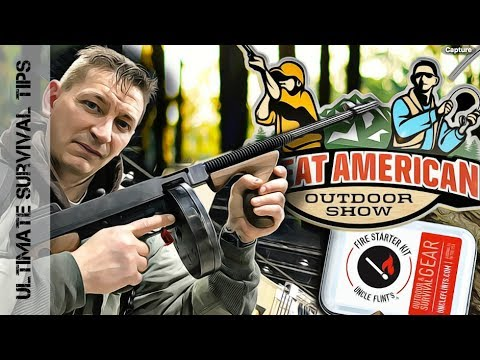 GREAT AMERICAN OUTDOOR SHOW  - Inside Look - HUNTING -FISHING -CAMPING -SURVIVAL -Best Show