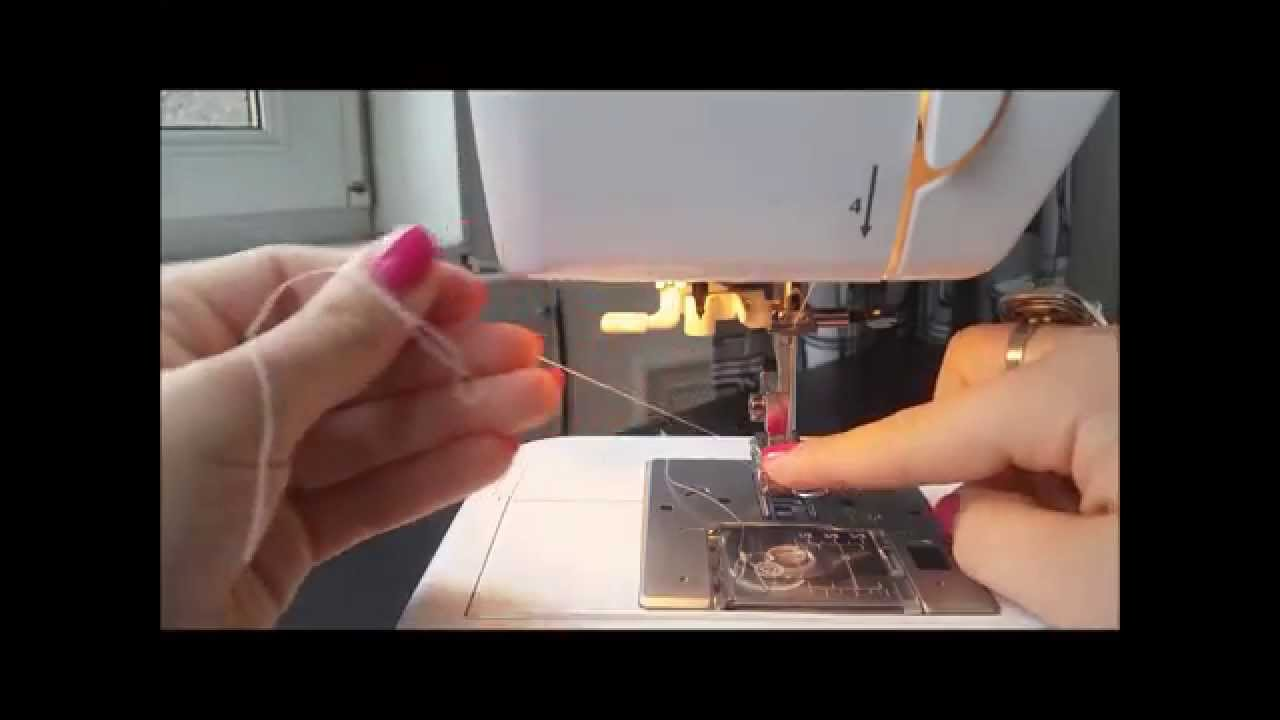How to Thread A Sewing Machine | Elna eXplore 340