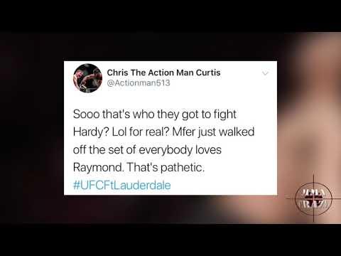 MMA Pros React to Greg Hardy TKO Dmitrii Smoliakov at UFC Fort Lauderdale
