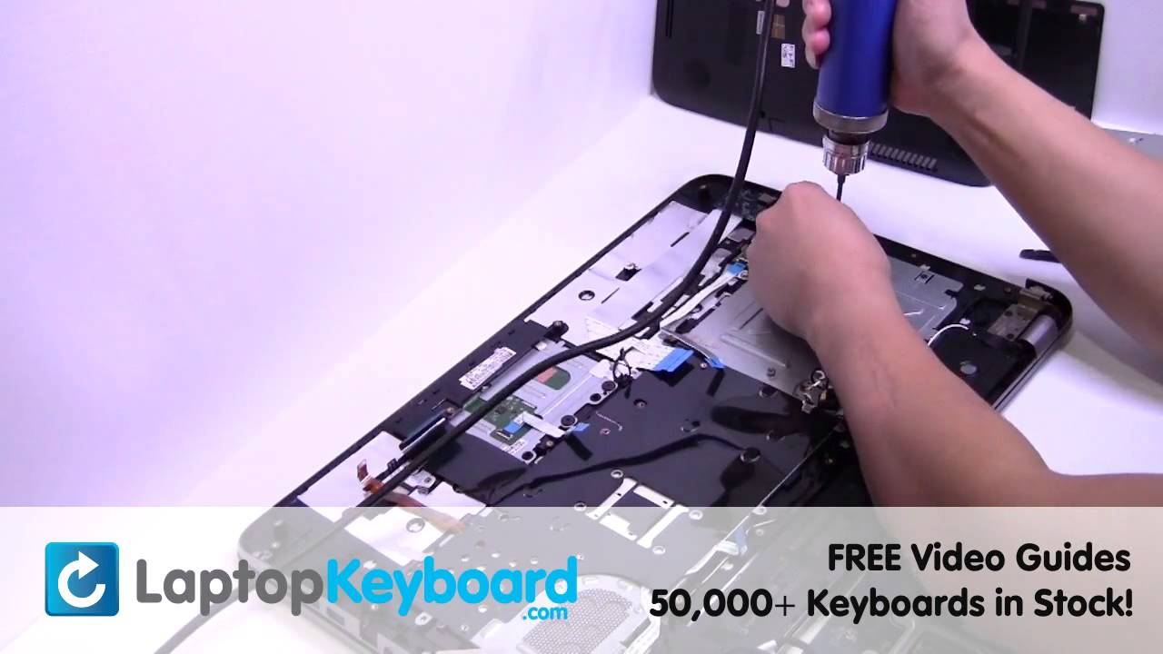 how to clean hp keyboard
